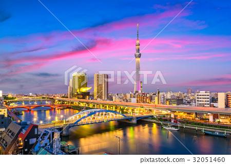 Tokyo, Japan Sumida Skyline 32051460