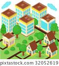 Isometric city 32052619