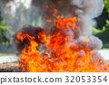 Flame fire movemen. 32053354