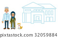 Muslim senior couple and housing 32059884