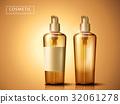 plastic cosmetic bottles 32061278