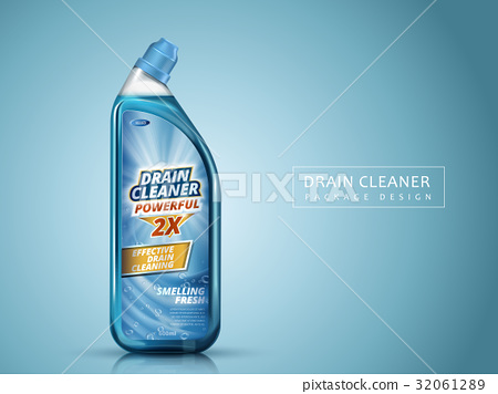 drain cleaner package design 32061289