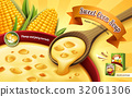 sweet corn soup ad 32061306