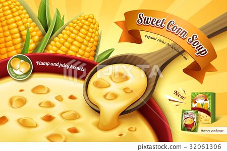 sweet corn soup ad 32061306