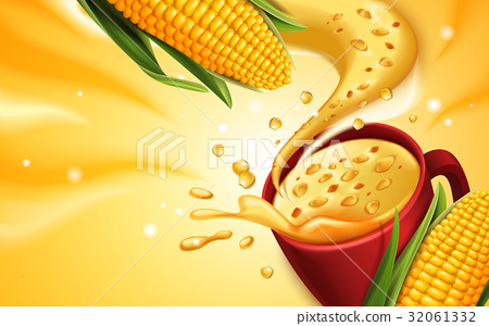 sweet corn soup 32061332