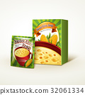 corn soup package design 32061334