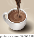 hot chocolate illustration 32061338