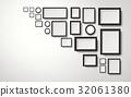 3d, illustration, blank 32061380