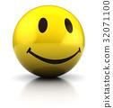 黄色 微笑 笑脸 32071100