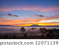 Landscape morning sunrise at Thung Salang Luang 32071139