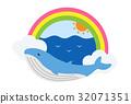 鯨魚 動物 哺乳動物 32071351
