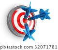 darts, red, success 32071781