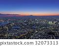 도시 풍경 야경 / Aerial view 32073313