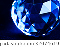 Blue crystal 32074619