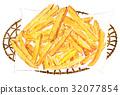 fried, potato, deep 32077854
