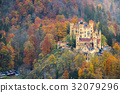 Hohenschwangau castle at Fussen,Germany 32079296