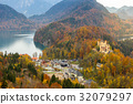 Hohenschwangau castle at Fussen,Germany 32079297