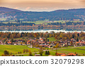 view at sunset time of Fussen ,Bavaria,Germany 32079298