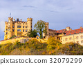 Hohenschwangau castle at Fussen,Germany 32079299