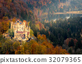 Hohenschwangau castle at Fussen,Germany 32079365