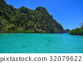 Landscape of tropical sea in summer 32079622