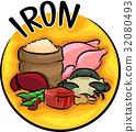 Iron Icon 32080493