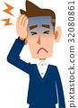 頭疼 頭痛 偏頭痛 32080861
