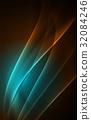 Vector polar lights concept background 32084246