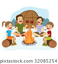 Family Campfire 32085254
