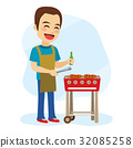 Barbecue Man 32085258