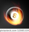 8, ball, billiard 32085339