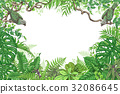 frame bird plant 32086645