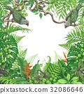 frame bird plant 32086646