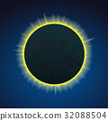 Eclipce vector illustration 32088504