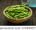 edamame, green, soybean 32088907