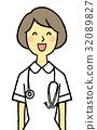 간호사, 여성, 여자 32089827