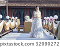 picture of a beautiful bride with a smile on her face 32090272