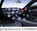 概念 駕駛員座椅 網路 32090660