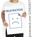 frustration, icon, problem 32092657