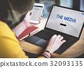 Media Digital Online Technology Internet Information 32093135