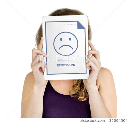 Expressions Sad Face Icon Emotion Sadness Emoticon 32094304