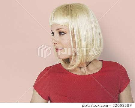Woman Portrait Studio Shoot Casual 32095287