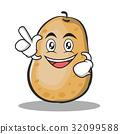 Have an idea potato character cartoon style 32099588