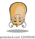 Upside down potato character cartoon style 32099698