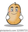 potato cartoon vector 32099735