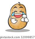 土豆 马铃薯 卡通 32099857