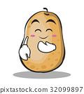 土豆 马铃薯 卡通 32099897