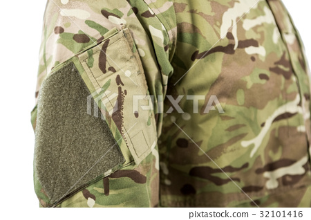 Mid section of soldier 32101416