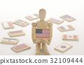 洋娃娃 娃娃 美国 32109444