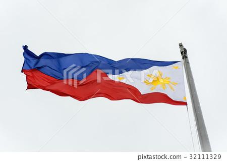 Philippine Flag 32111329